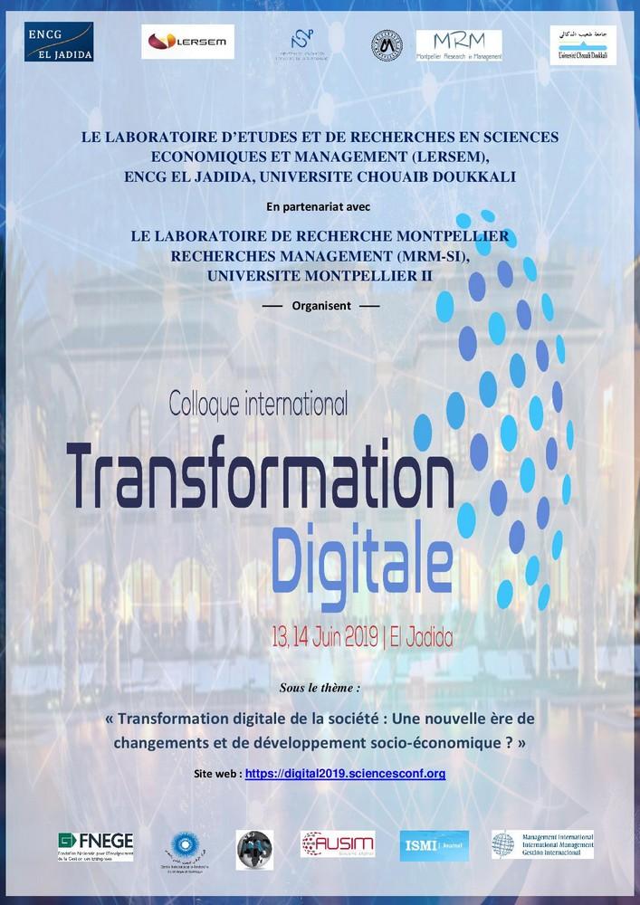 Colloque Digital Maroc